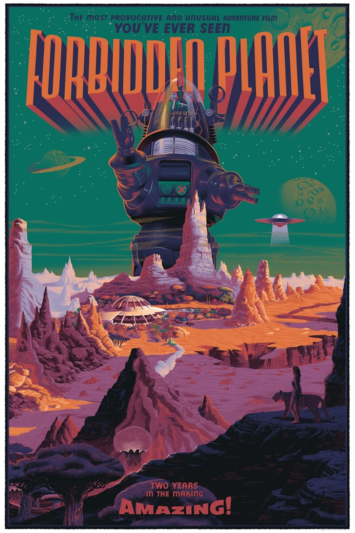 Forbidden Planet Retro-Futuristic World of Laurent Durieux