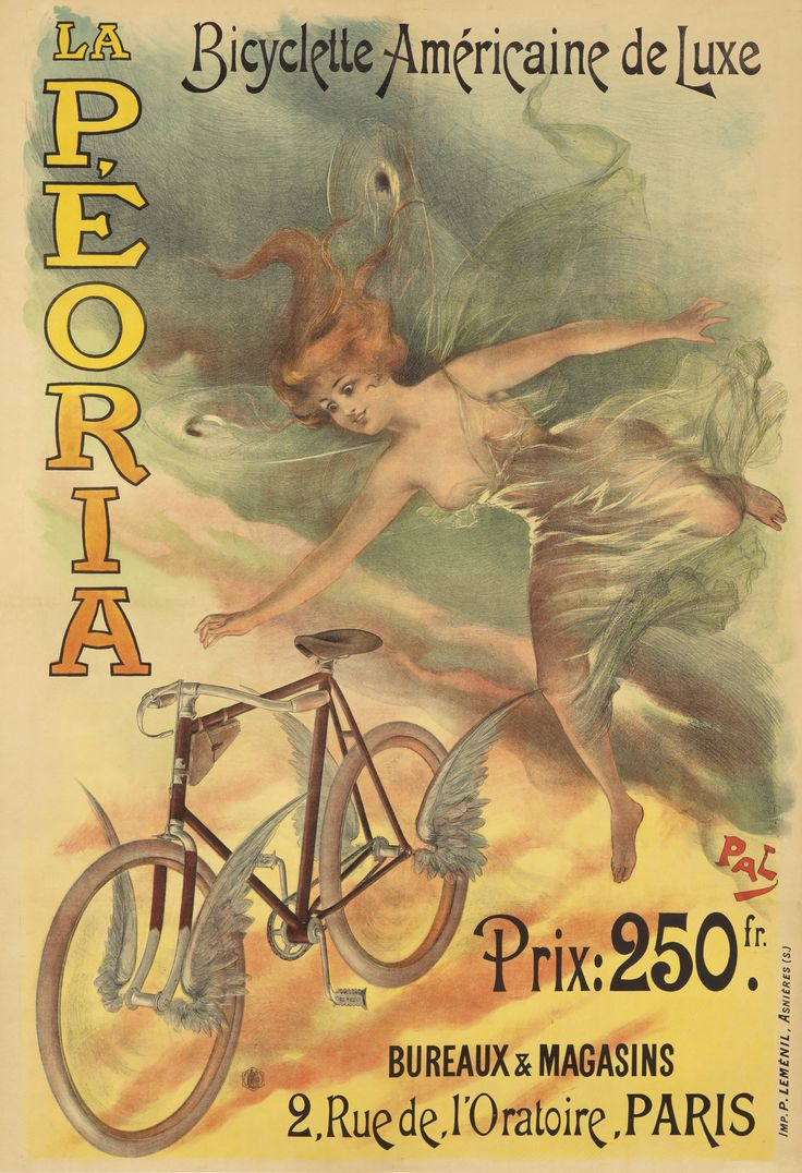 bicycle bike poster