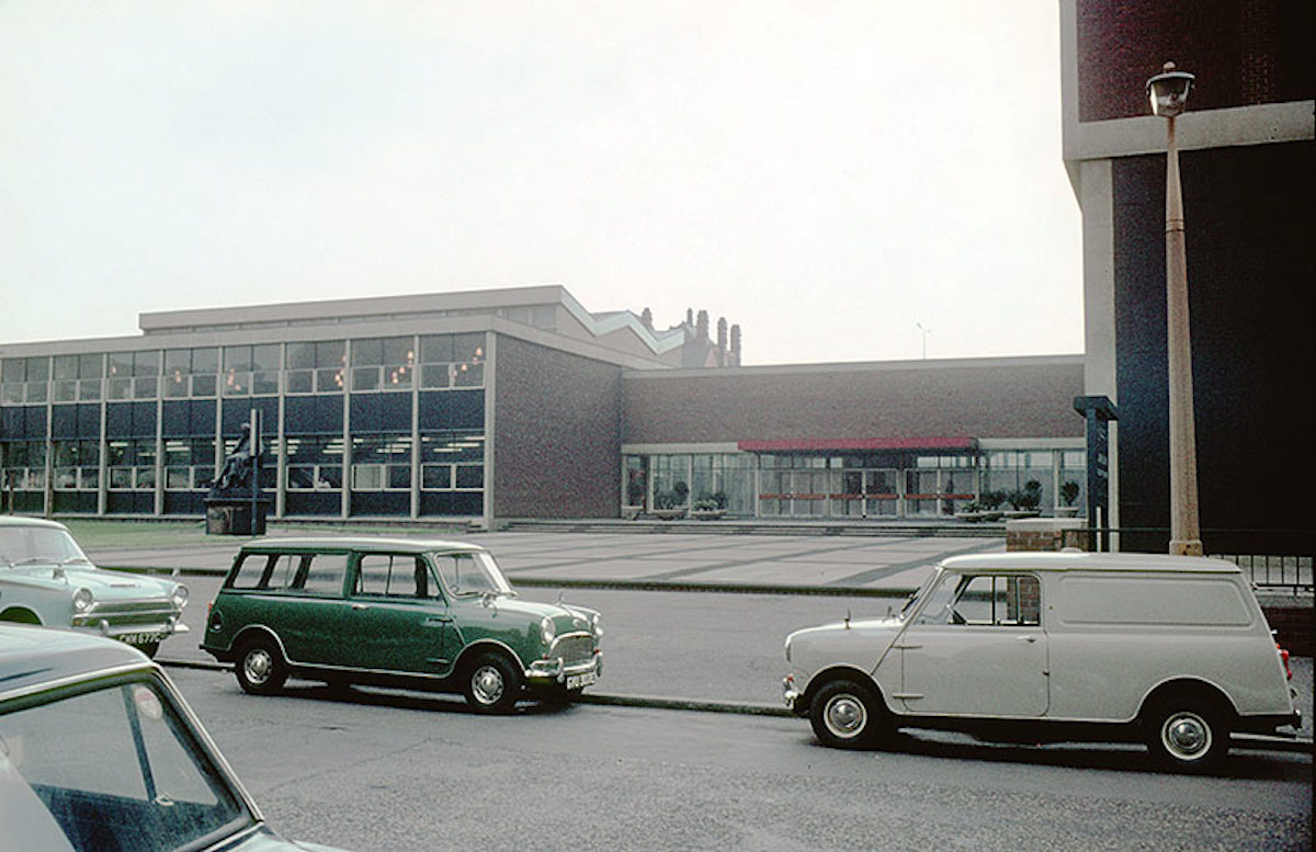 Entrance to the John Dalton College of Technology on Chester Street, late 1960s.