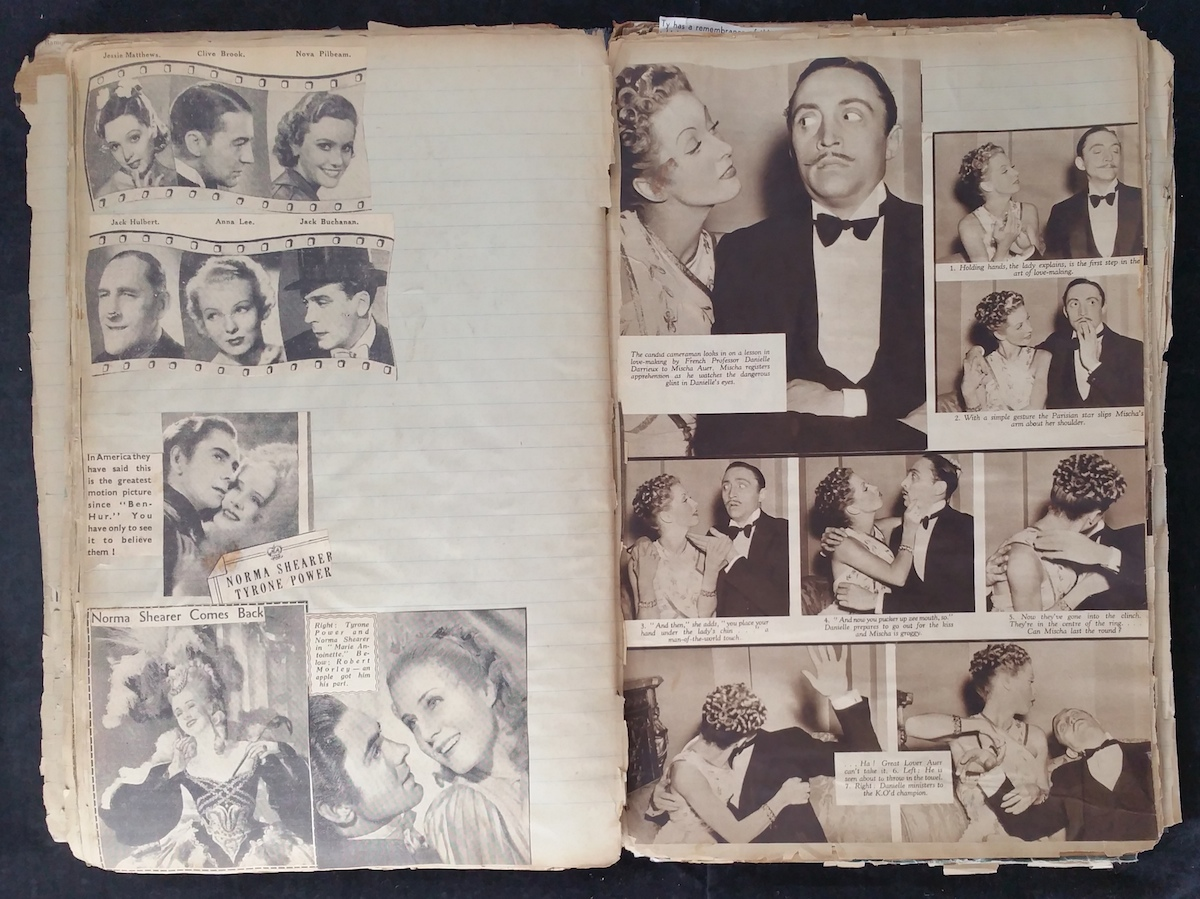 Movie Star Scrapbook