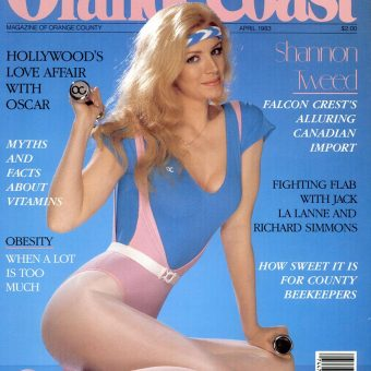 1980s Celebrity Cover Girls of Orange Coast Magazine
