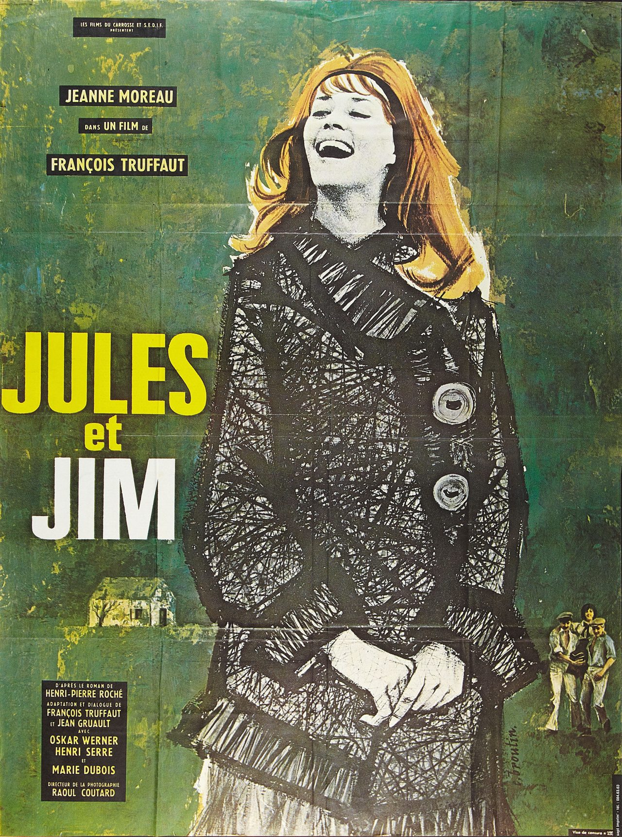 Poster of Jules et Jim directed by François Truffaut, 1962 c ...
