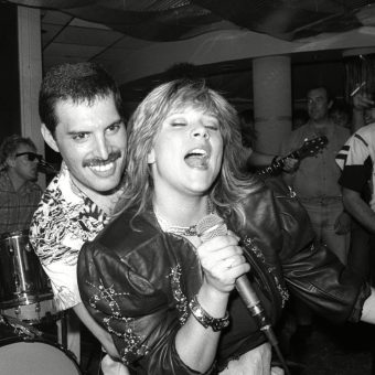 Queen's Brilliant After-Show Party At Kensington Roof Gardens (1986)