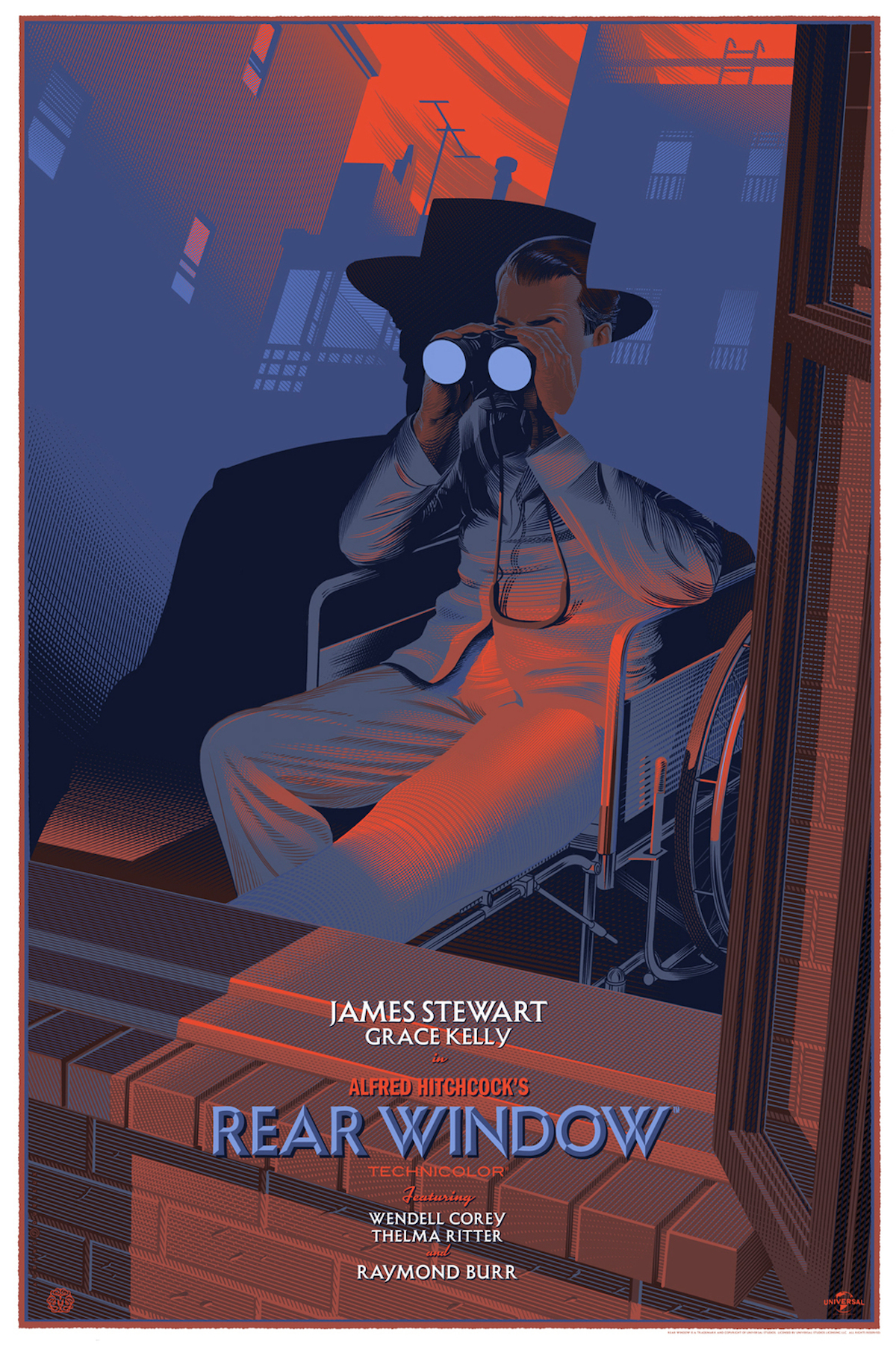 Rear Window Retro-Futuristic World of Laurent Durieux
