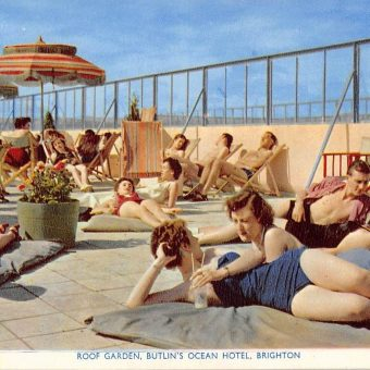 44 Glorious Postcards of the Glamorous Butlin's Ocean Hotel in Saltdean