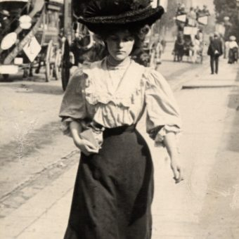 Edwardian Street Style – Photos by Edward Linley Sambourne