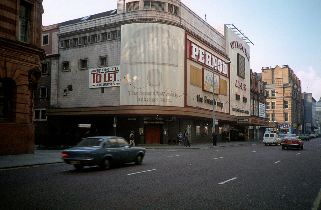 Rotter's night club, formerly the Gaumont cinema on Oxford Street in late 1982