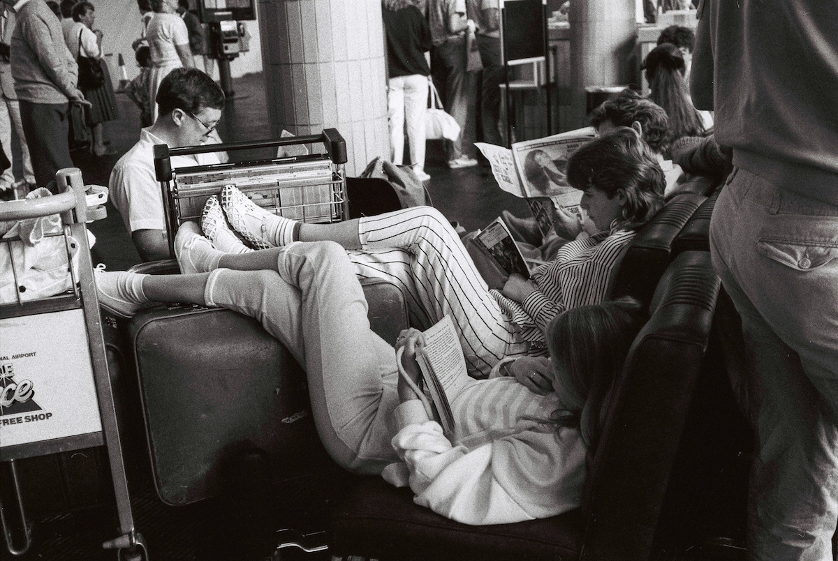 manchester airport 1987