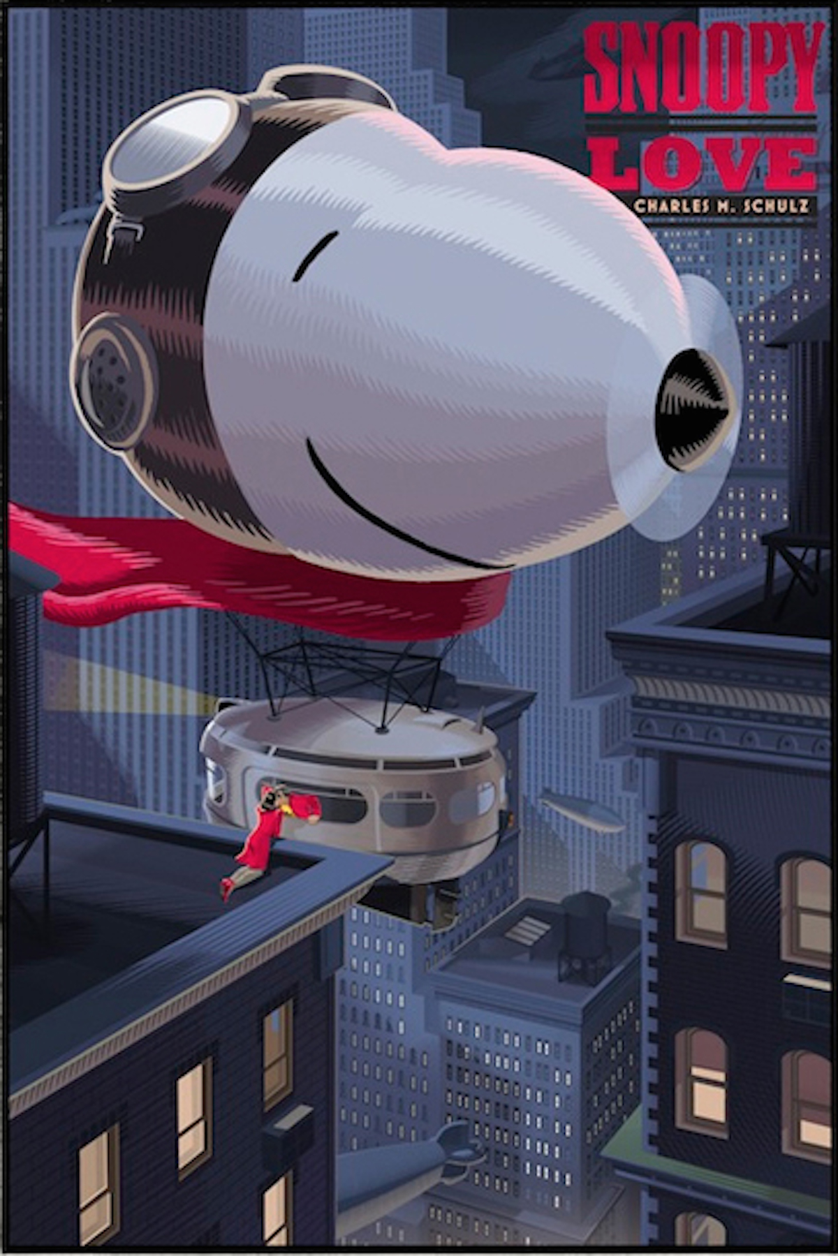 Peanuts, Snoopy Retro-Futuristic World of Laurent Durieux