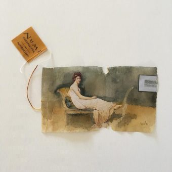 363 Days Of Tea: Artist Paints Beautiful Pictures On Old Tea Bags