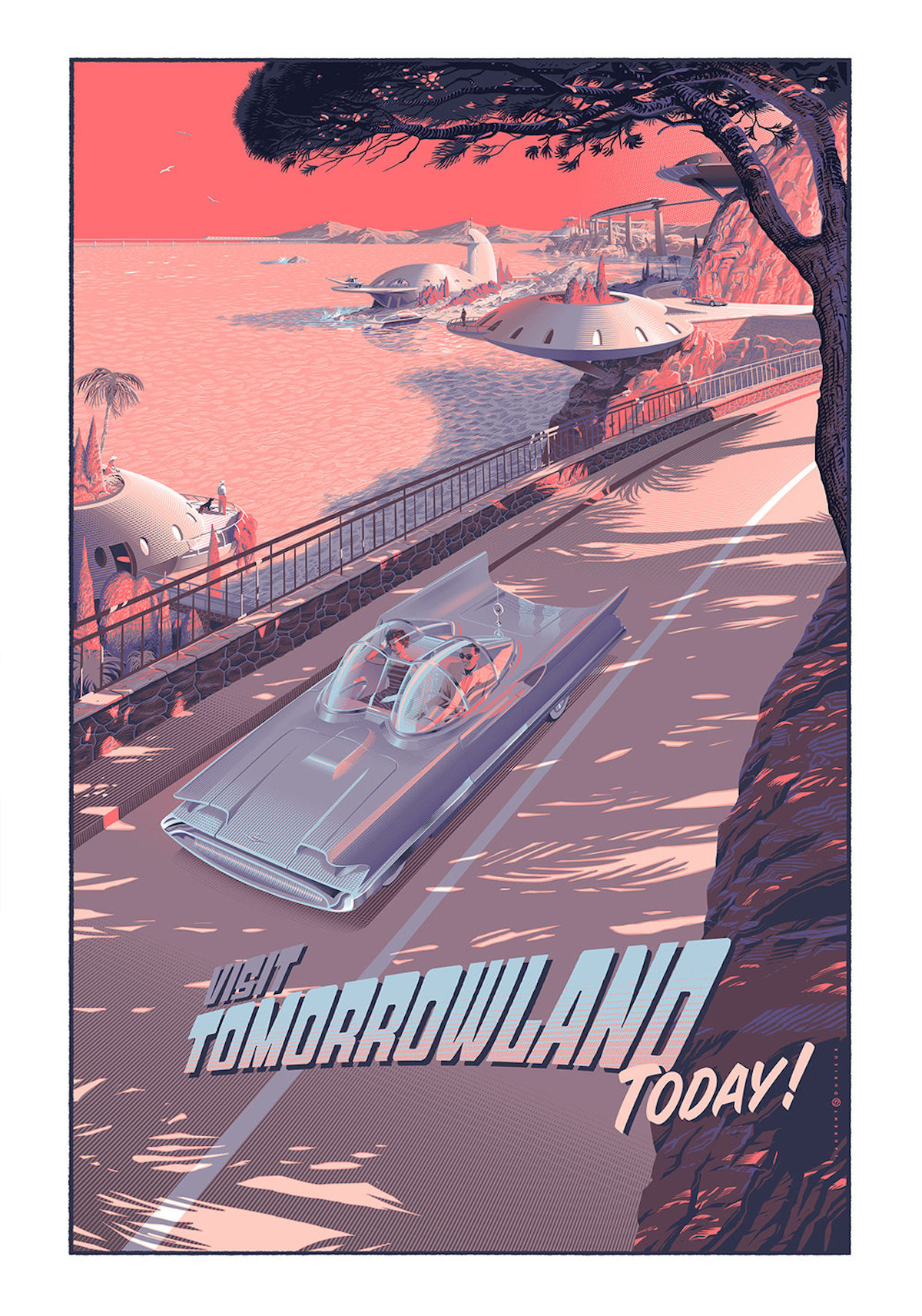 Tomorrowland Retro-Futuristic World of Laurent Durieux