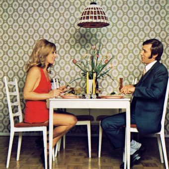 Two at a Table: Vintage Photos of Couples Having a Meal