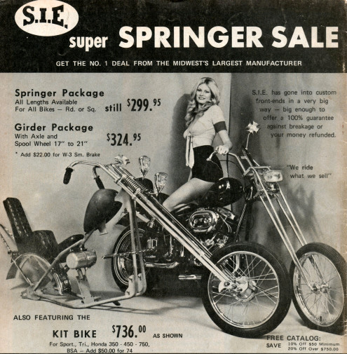 30 Dynamite Motorcycle Ads from the Seventies - Flashbak