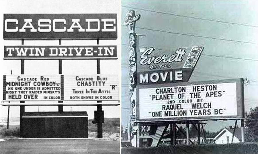 Drive In Theater Memories Vintage Ads Marquees Flashbak