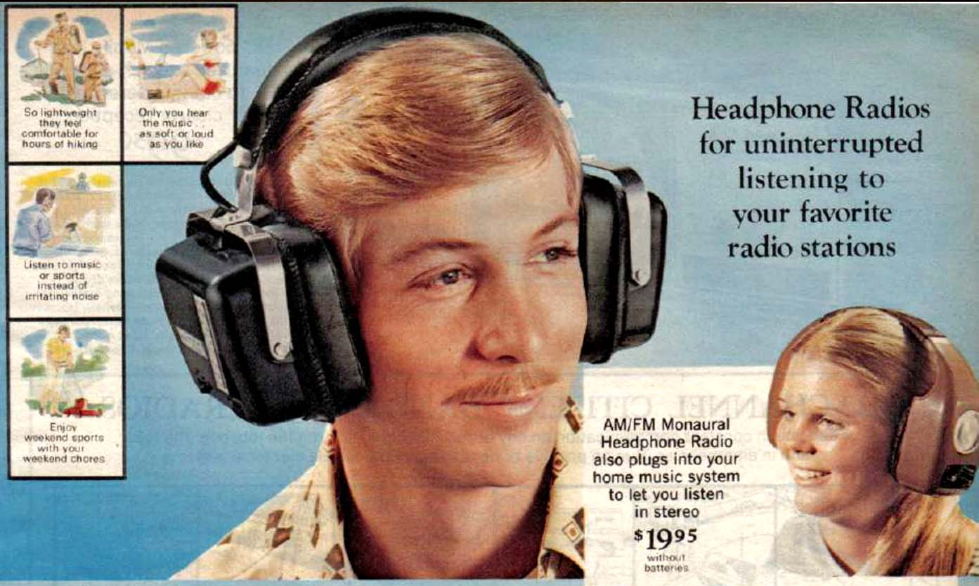 This Is A Journey Into Sound A Look At Old School Headphones Flashbak