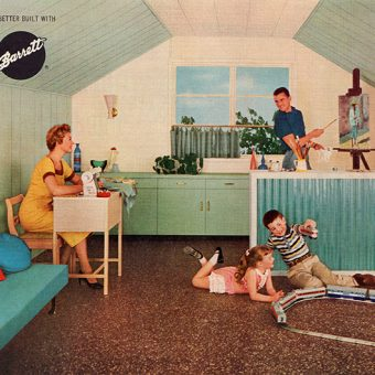 Pleasant Valley Living: A Look Inside a Mid-Century Home Magazine