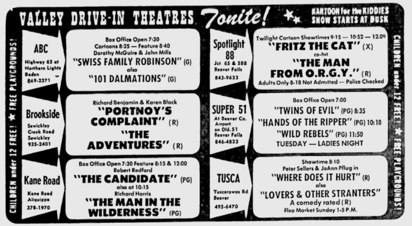 101 Dalmatians Porn Comic drive-in theater memories: vintage ads & marquees - flashbak