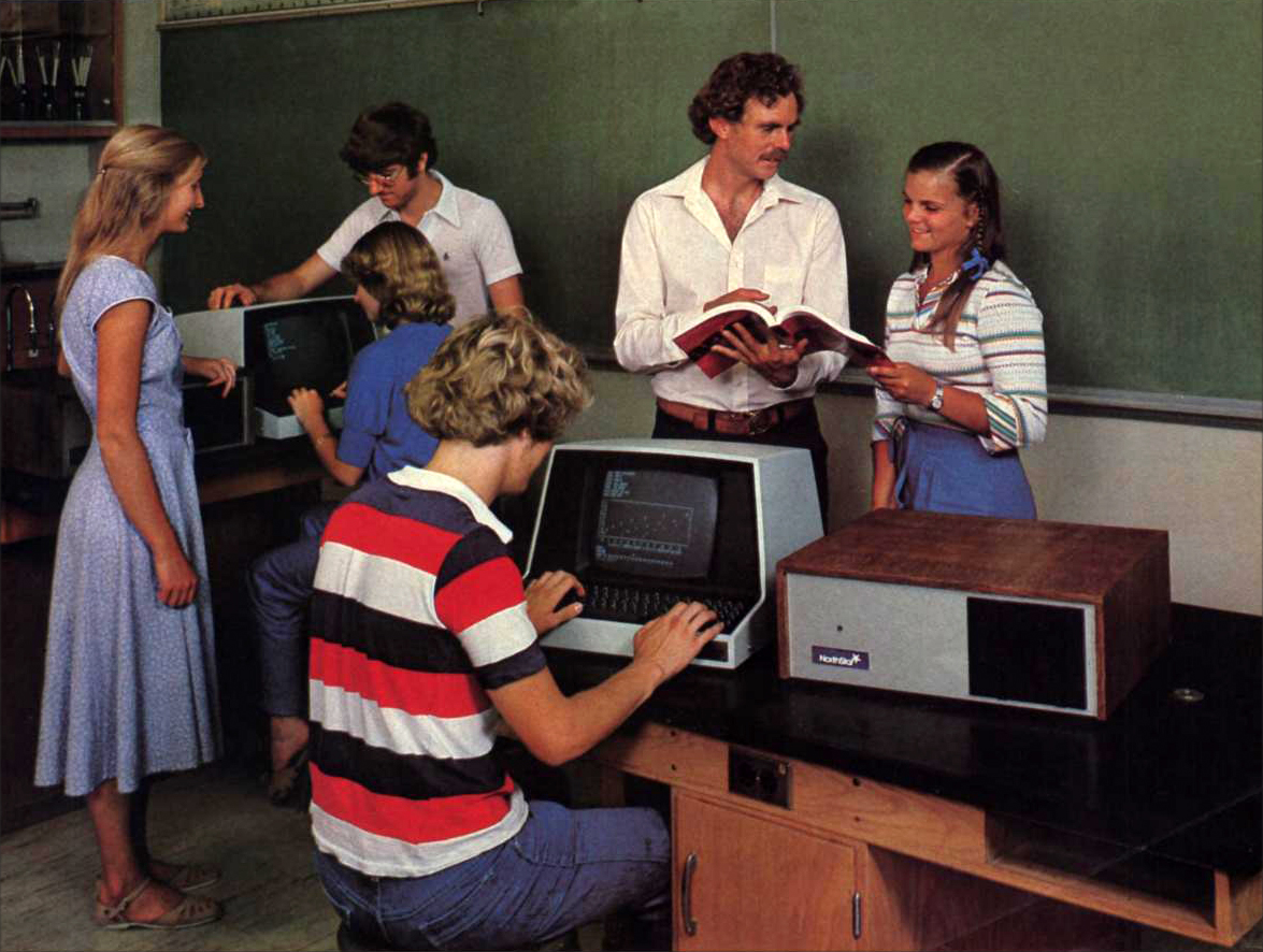me my trs 80 kids and their computers in the 1980s flashbak