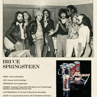 CREEM Profiles: One-Page Spotlights of 1970s-80s Musicians