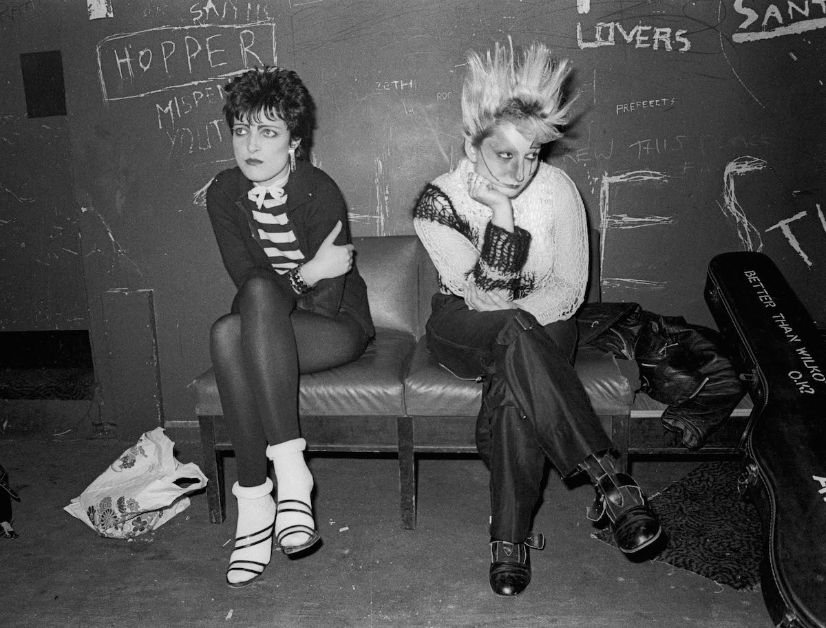 Siouxsie Sioux and Jordan, Liverpool, 1978