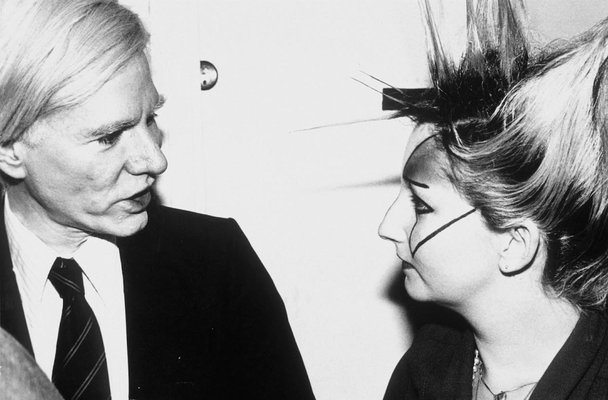 Andy Warhol and Jordan - January 1, 1977