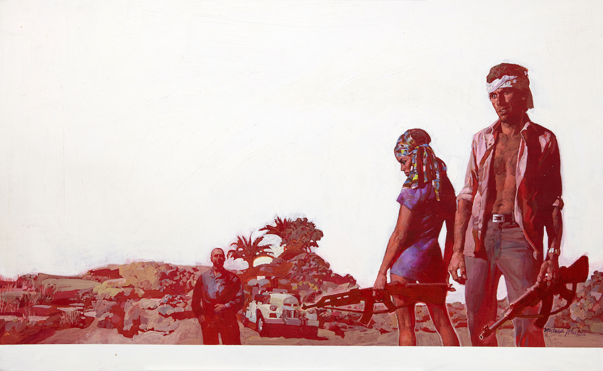 Michael Johnson_Unknown_c1970_acrylic on board_copyright Lever Gallery_AW