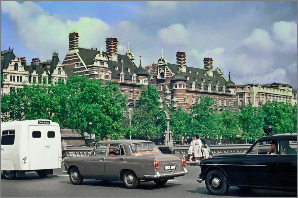 colour photos of London early sixties