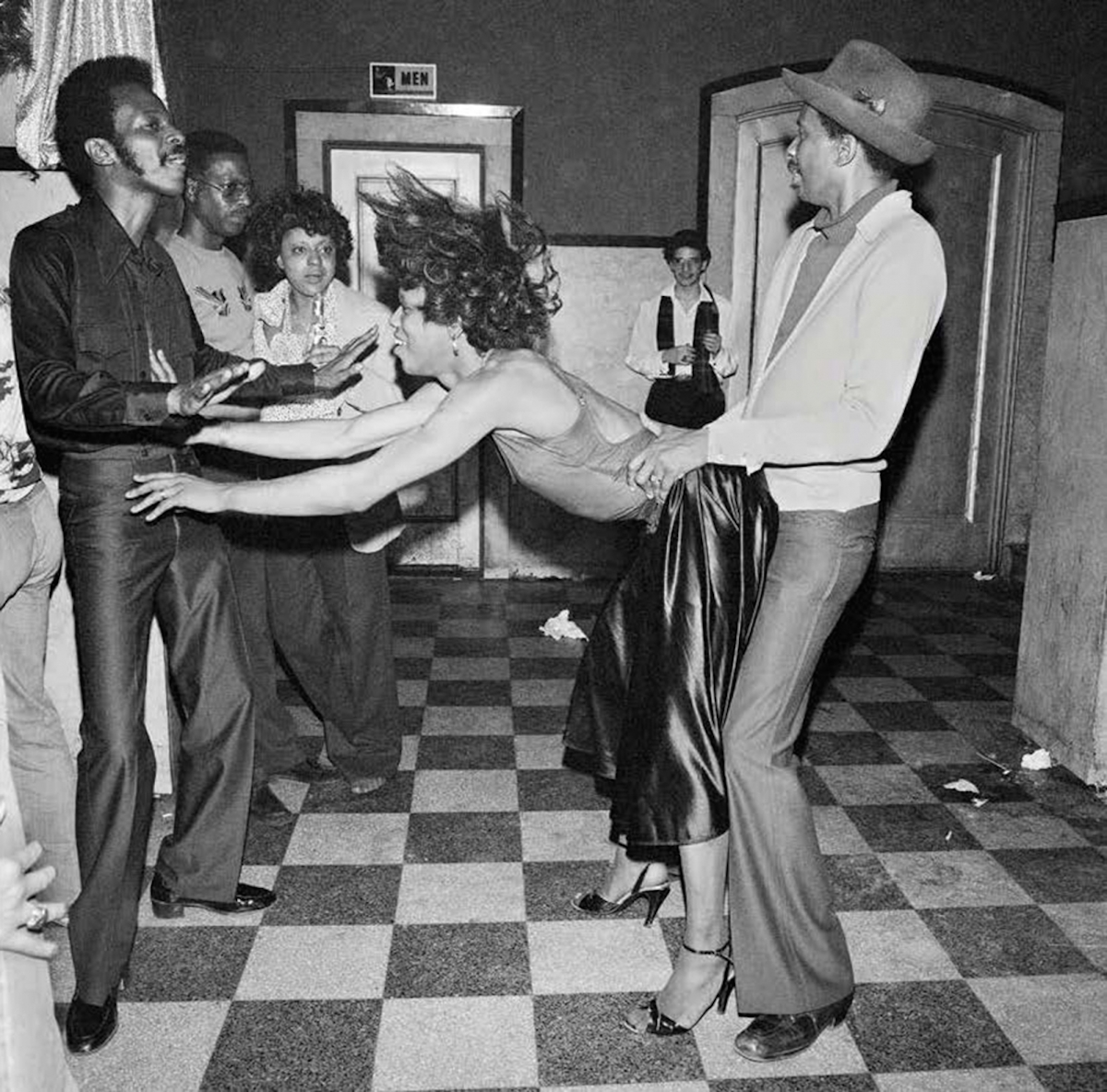 Threesome Dance, GG's Barnum Room NY, December 1978