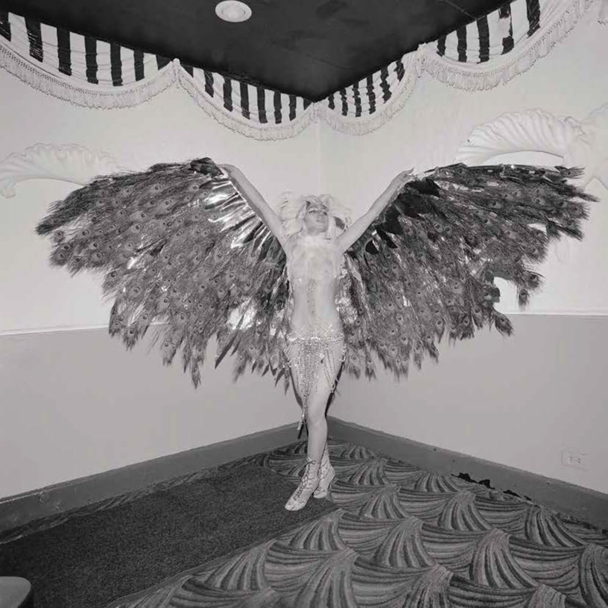 Spreading Wings at the COYOTE Hookers Masquerade Ball, NY, February 1977