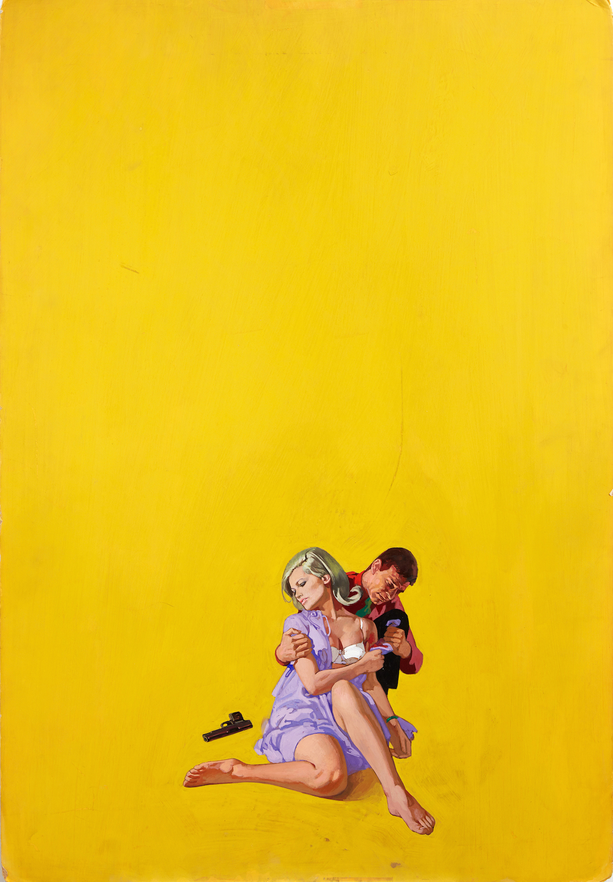 Renato Fratini_The Twisted Thing_1967_gouache on board_copyright Lever Gallery_AW