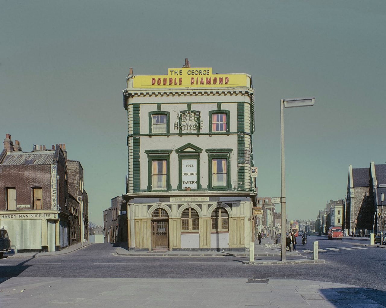 Sensational Kodachrome Photos of London's East End by David Granick