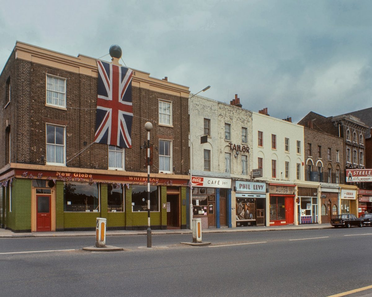 The New Globe, Mile End Road, 1977