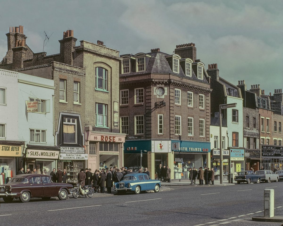 Whitechapel Road, 1965 London