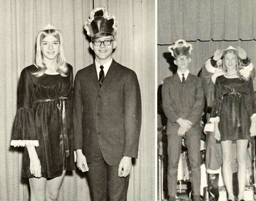 Georgia State College >> Miss Popularity in the 1970's: 35 Vintage Photos of Prom Queens & Their Groovy Court - Flashbak