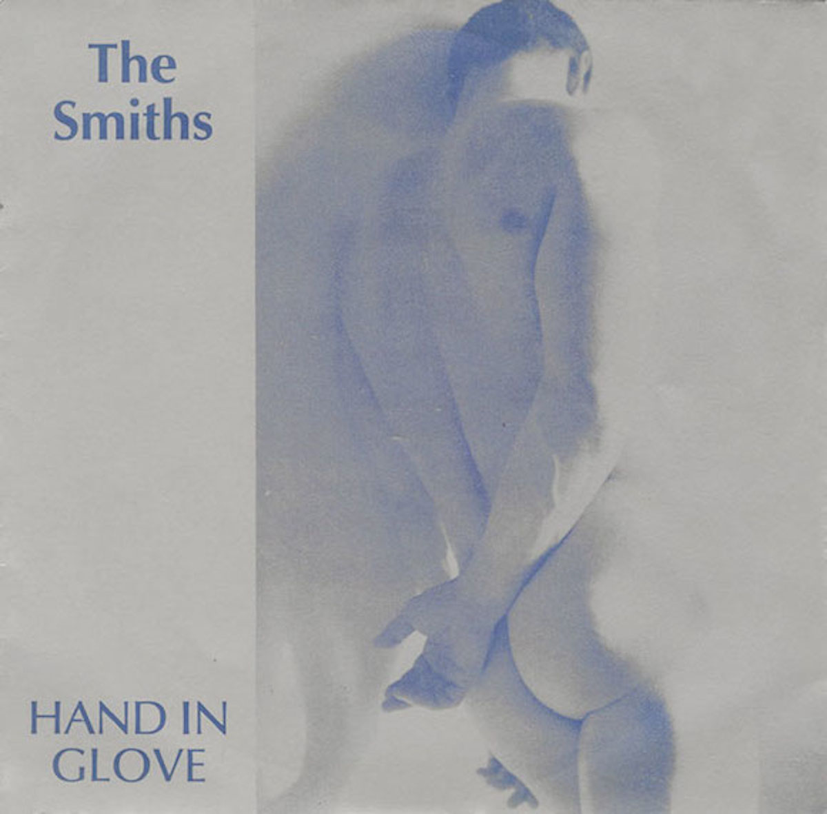 French study on the front of single sleeve for The Smiths' 1983 single, taken by Morrissey from Margaret Walters' 1978 compendium The Male Nude