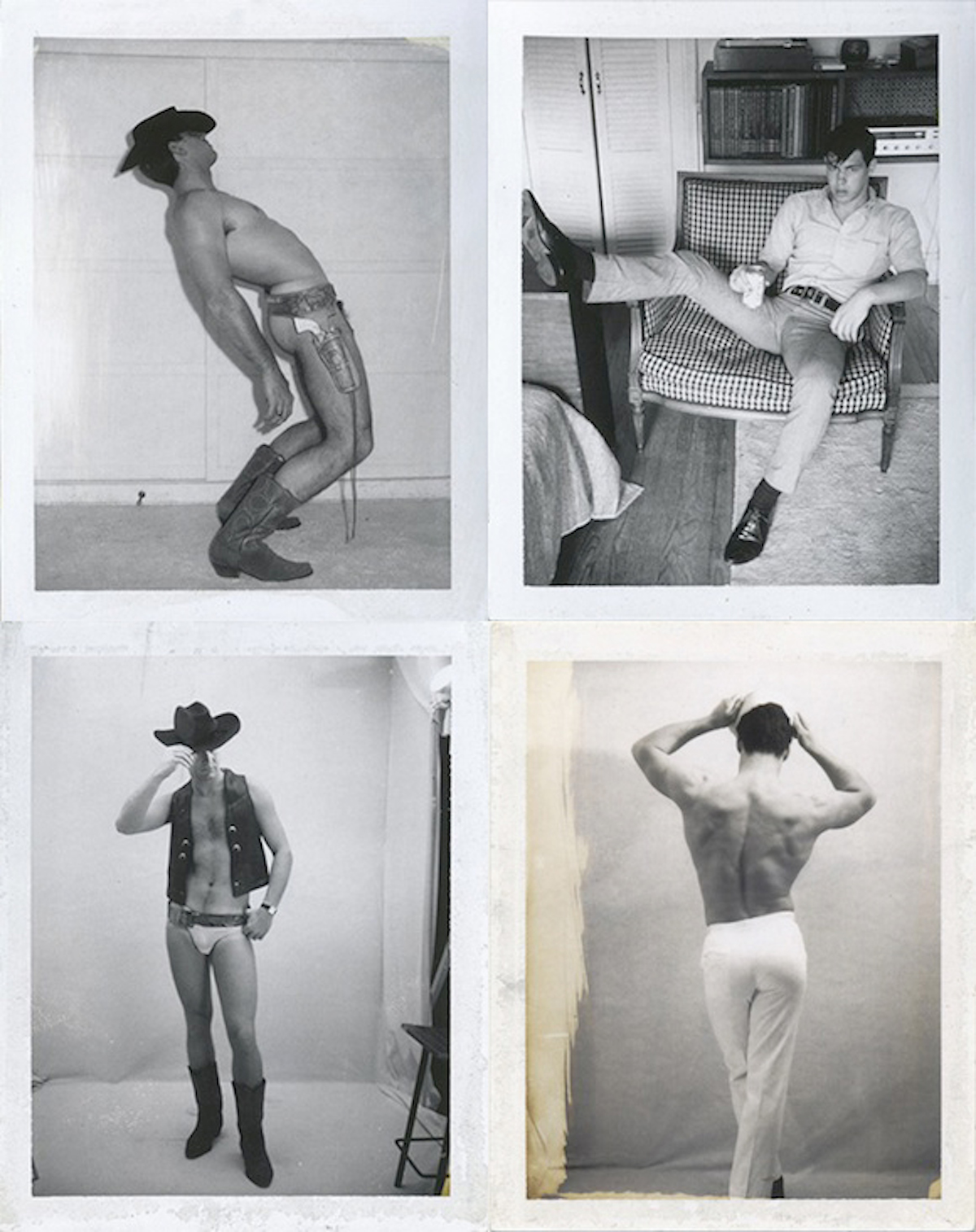 Polaroid studies, Jim French, late 60s, from Tinker, Tailor, Soldier, Sailor at ClampArt, New York, 2013