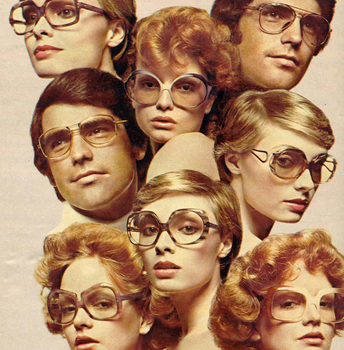 219954bd5d2e Those  70s Glasses  Eyewear from the Disco Decade and Beyond - Flashbak