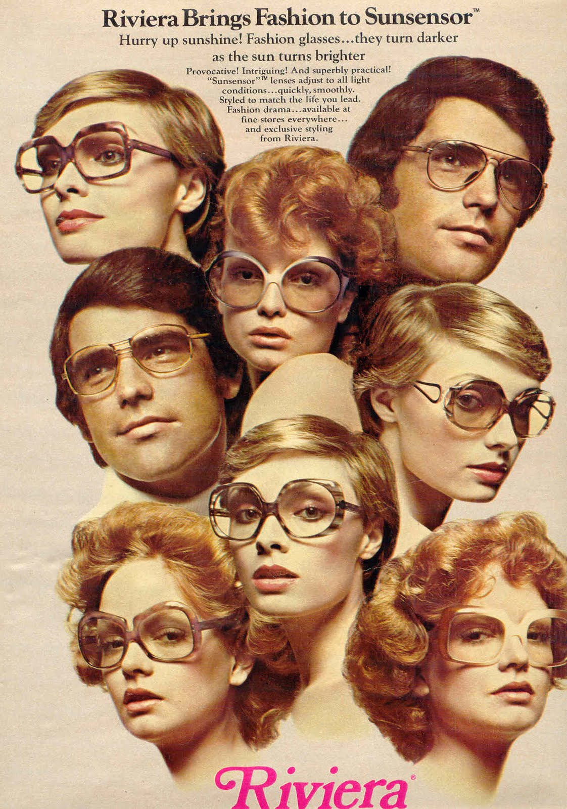 ee0918ccfa2b Those  70s Glasses  Eyewear from the Disco Decade and Beyond - Flashbak