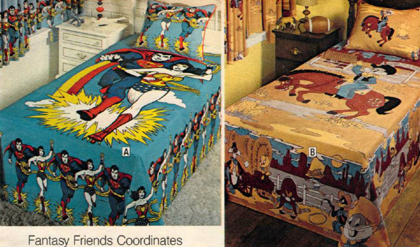 That 70 39 s bedding groovy pillows sheets from a catalog - Jcpenney childrens bedroom furniture ...