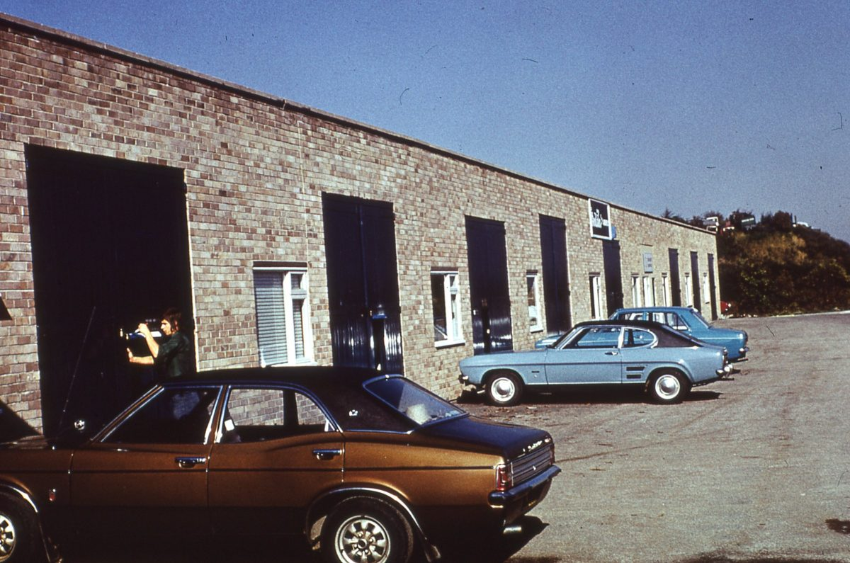 Finchwell Road, Handsworth, Sheffield, October 1974.