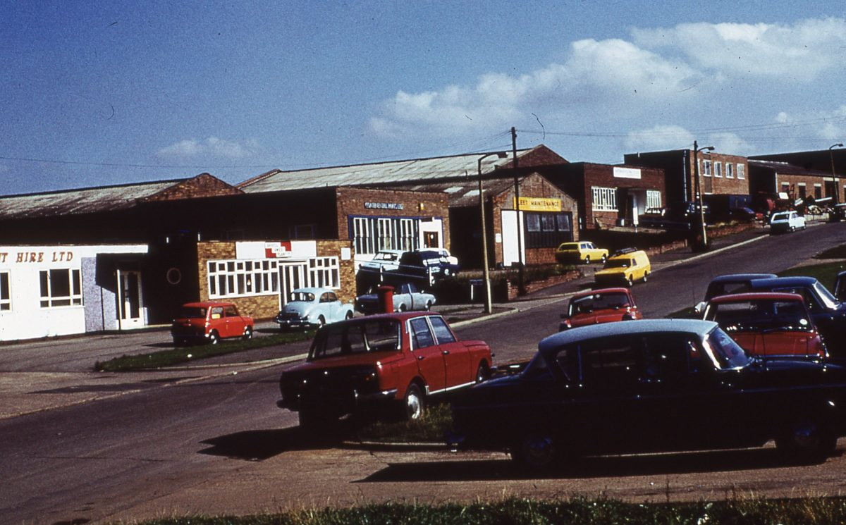 Coleford Road, Tinsley Park, Sheffield, October 1974.