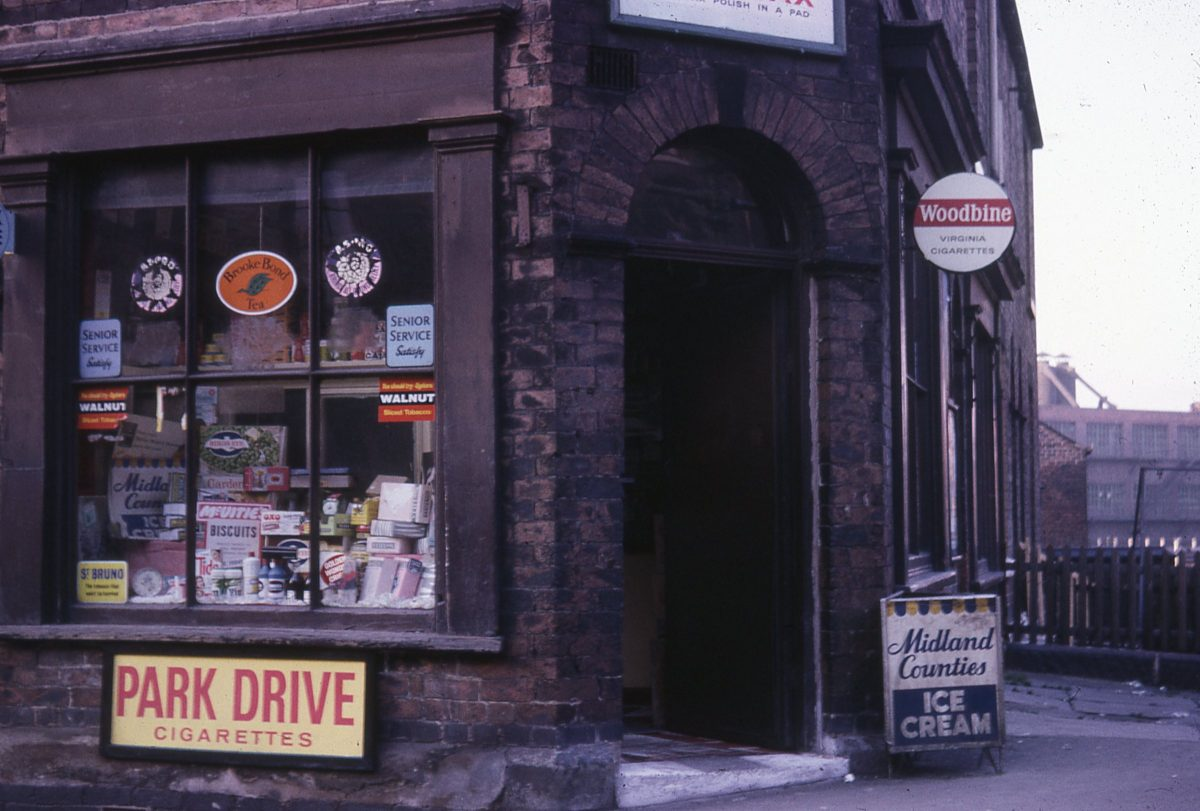sheffield 1970s corner shops