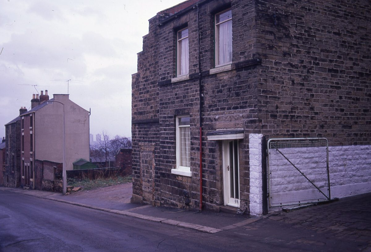 Housing, Sheffield, 1972.