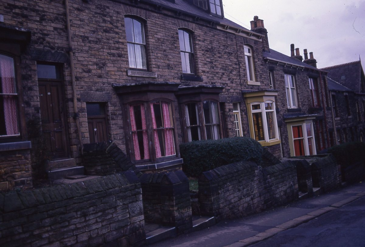 Housing, Sheffield, 1972