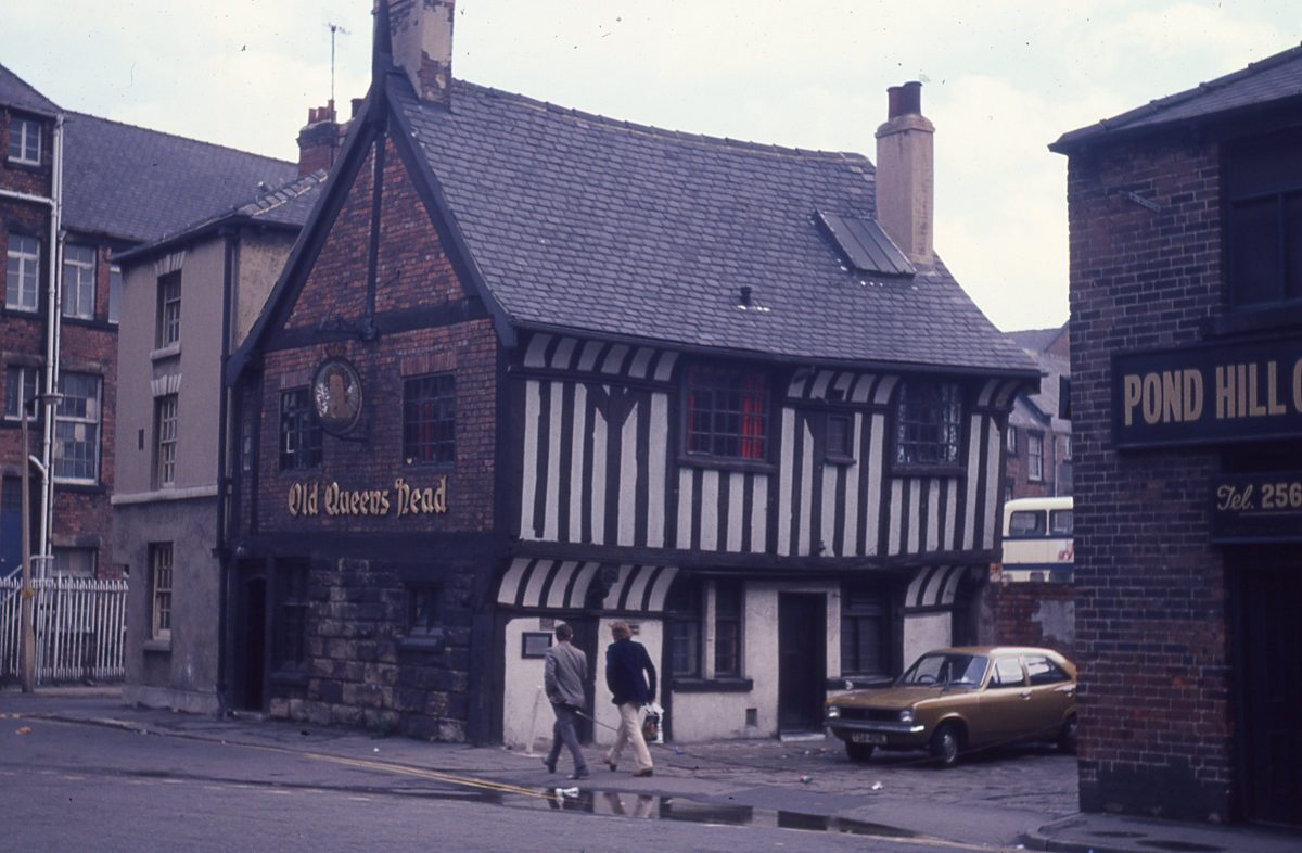 Old Queens Head Pub, Pond Hill, Sheffield