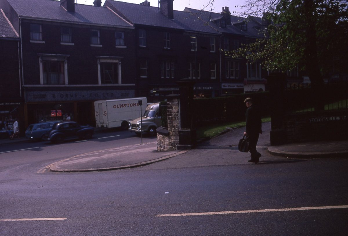 Junction of Taptonville Road & Fulwood Road, The Broomhill Study, Sheffield, May 1970.