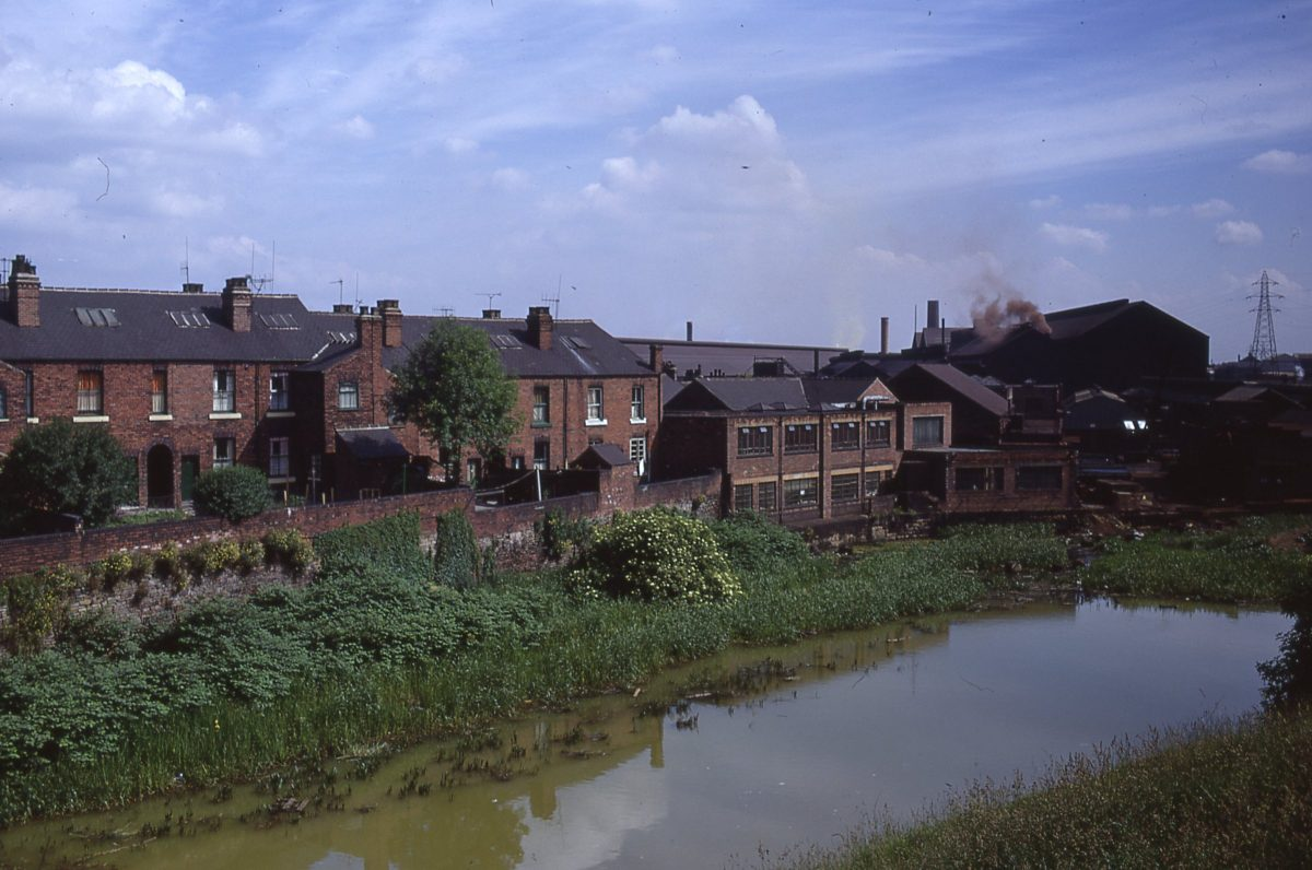Sheffield Canal from Shirland Lane, Darnall, Sheffield