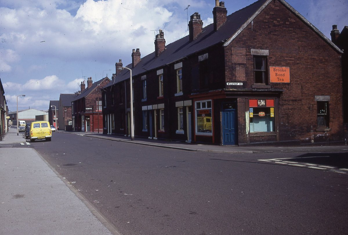 Junction of Wilstrop Road & Shirland Lane, Darnall, Sheffield