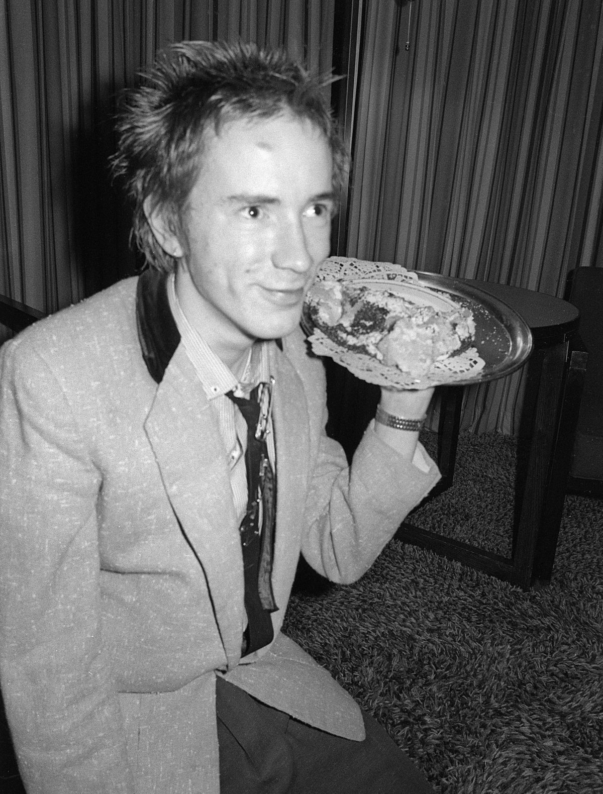 Johnny Rotten. Anarchy Tour. 1976