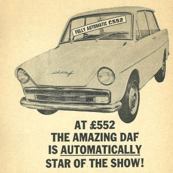 Ads From the 1964 Earls Court Motor Show Catalogue